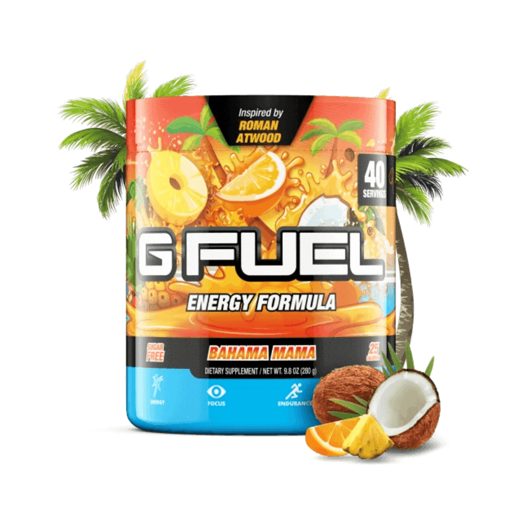 Bahama Mama Get Buy Gamer Fuel GFuel New Zealand Auckland Hamilton Wellington Christchurch