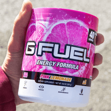 Load image into Gallery viewer, Pink Lemonade Get Buy Gamer Fuel GFuel New Zealand Auckland Hamilton Wellington Christchurch
