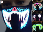 LED Lower Face Mask
