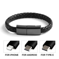 Charger Cable Woven Bracelet