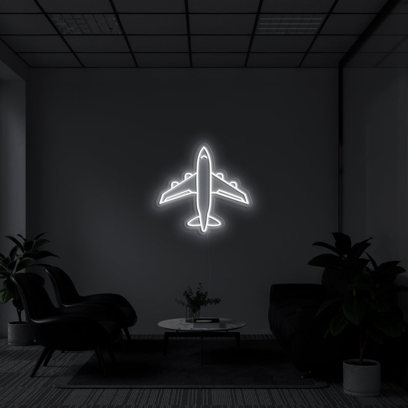 'Airplane' Neon Sign