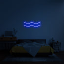 'Aquarius' Neon Sign