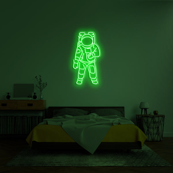 'Astronaut' LED Neon Sign