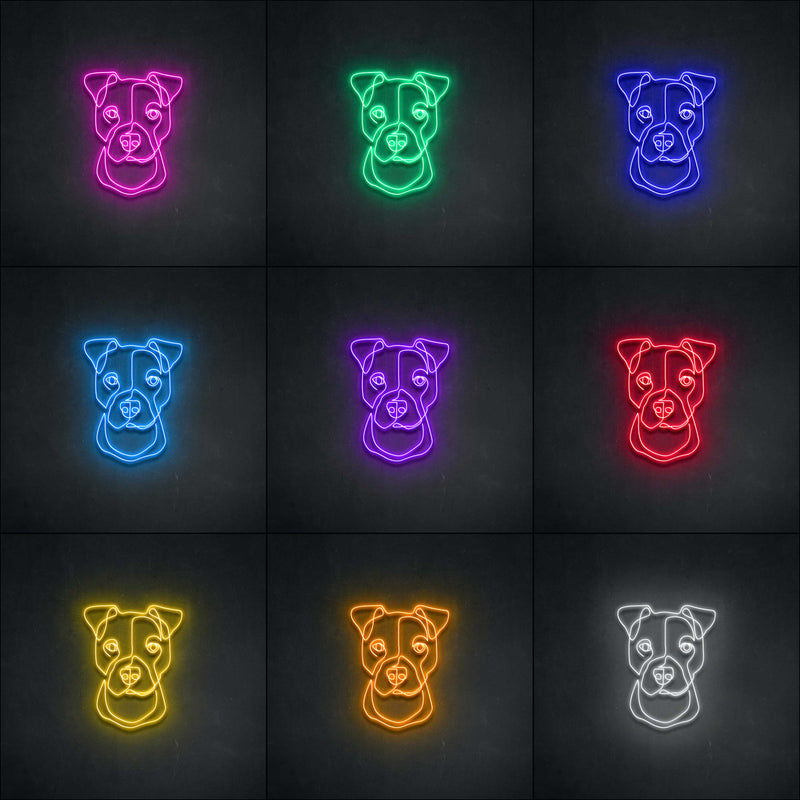'Boxer' Neon Sign-Neon Beach