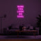 'Babe You Look So Cool' LED Neon Sign