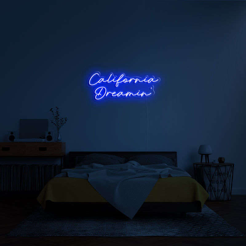'California Dreamin' LED Neon Sign