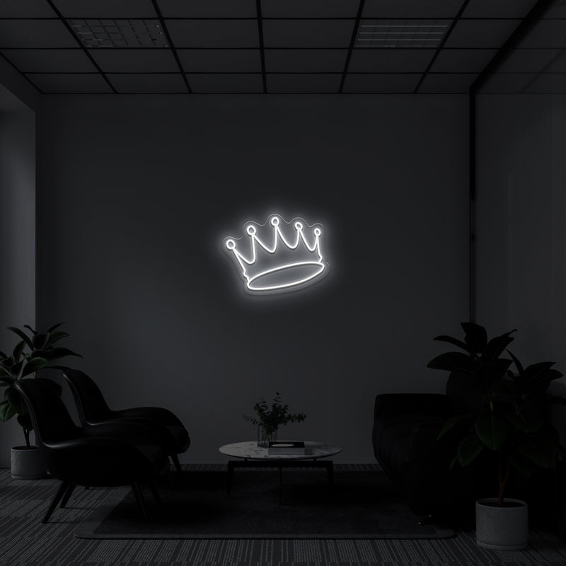 'Crown' LED Neon Sign