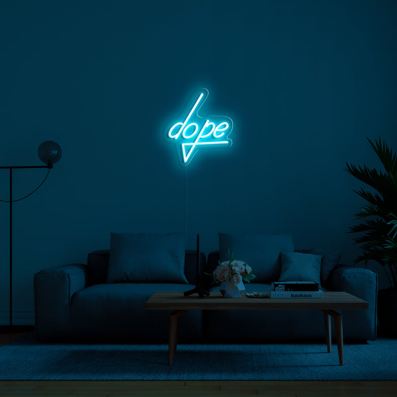 'Dope' LED Neon Sign