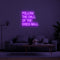 'Follow The Call Of The Disco Ball' LED Neon Sign