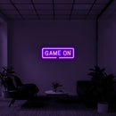 'Game On' LED Neon Sign