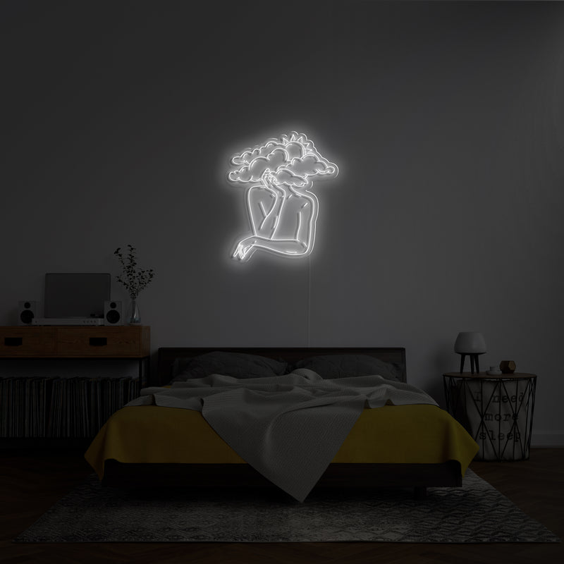 'Head in Clouds' Neon Sign