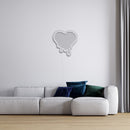 Melting Heart LED Neon Sign