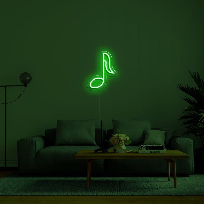 'Note' Neon Sign