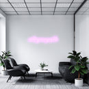'Nothing Is Impossible' Serif LED Neon Sign