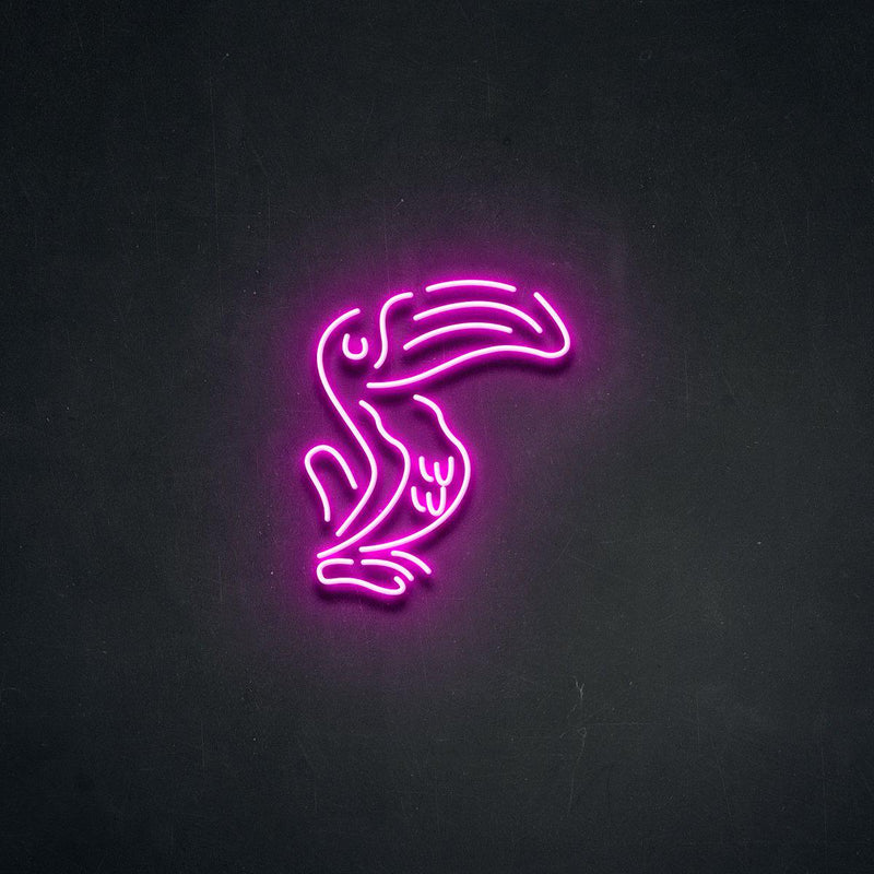 'Pelecan' Neon Sign-Neon Beach