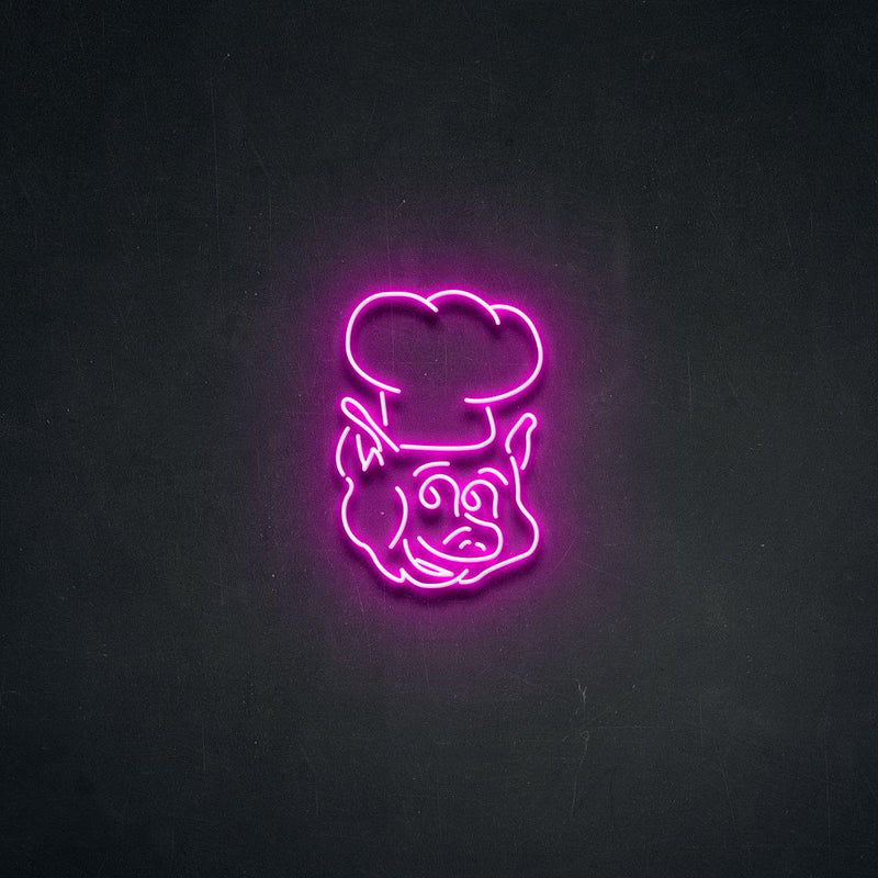 'Oink' Neon Sign-Neon Beach