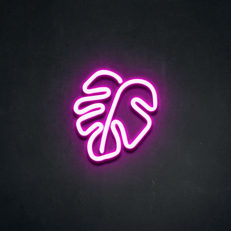 'Leaf' Neon Sign-Neon Beach