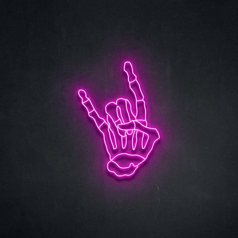 'Skellihand ' Neon Sign-Neon Beach