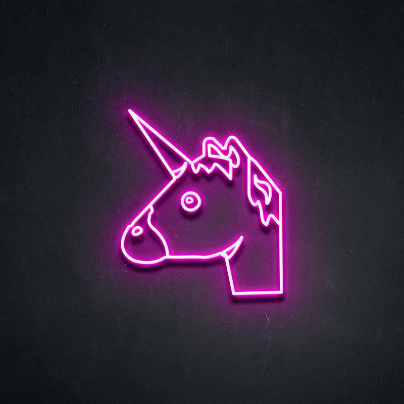 'UnicornHead' Neon Sign-Neon Beach