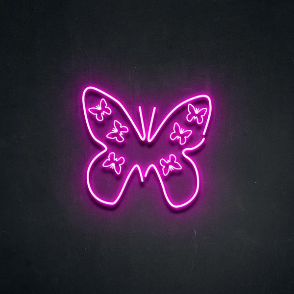 'Butterfly' Neon Sign-Neon Beach