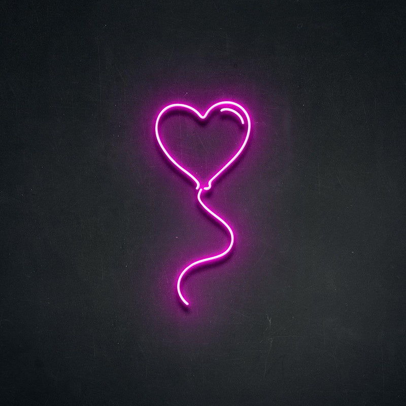 'Love Balloon' Neon Sign-Neon Beach