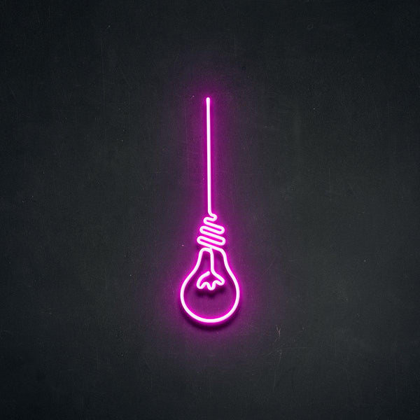 'Lightbulb Moment' Neon Sign-Neon Beach