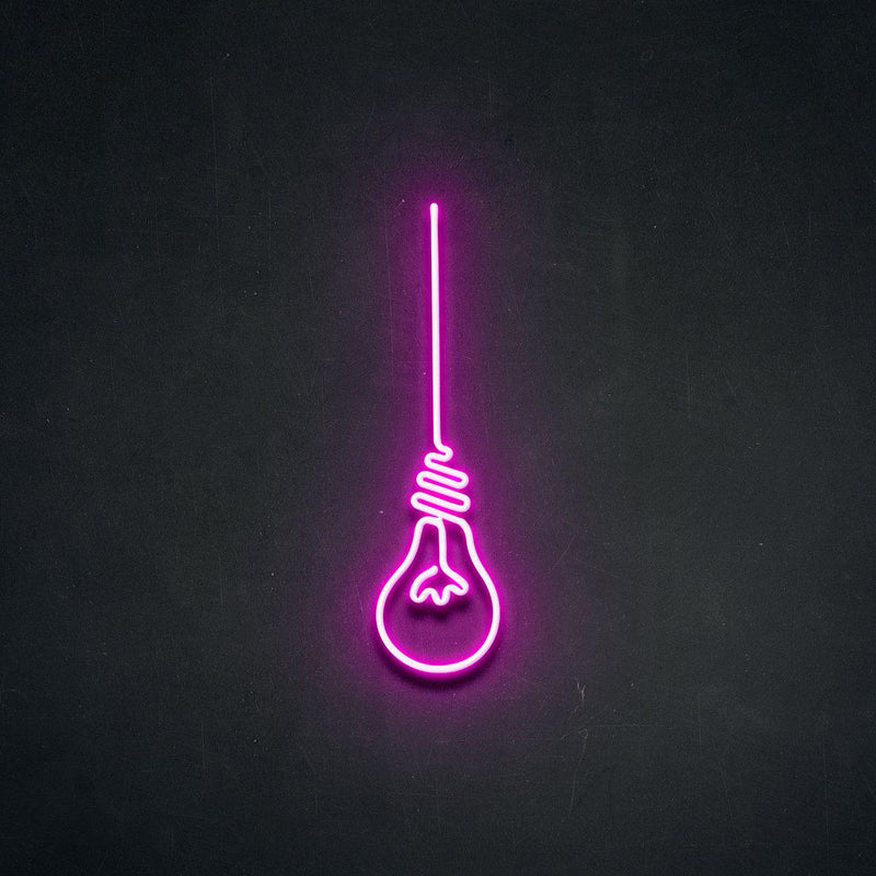 'Lightbulb Moment' Neon Sign