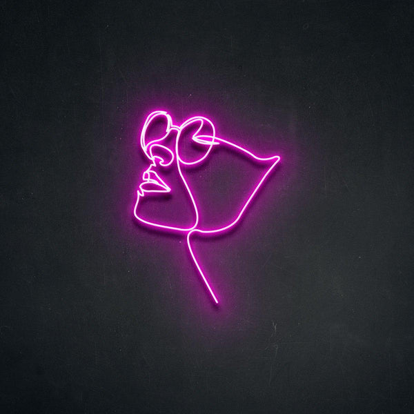 'Four Eyes' Neon Sign-Neon Beach