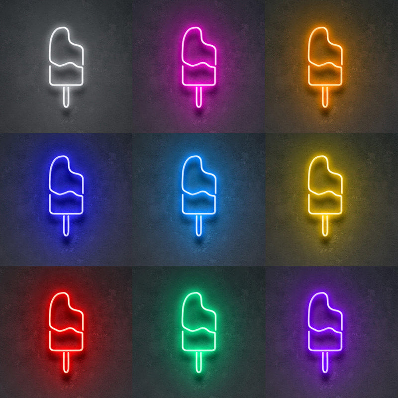 'Neon Popsicle' Neon Sign