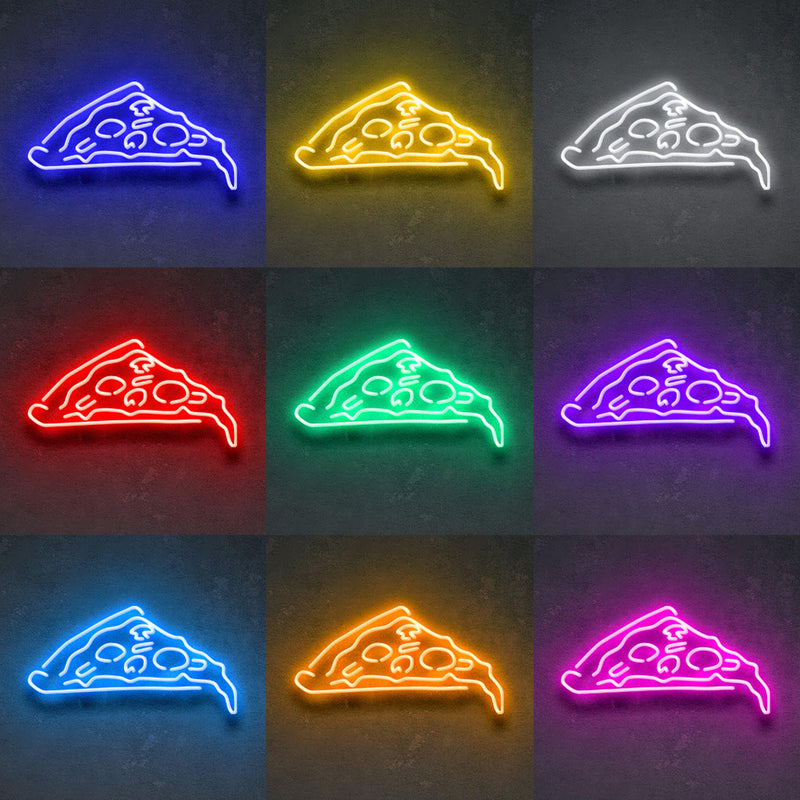 'Pizza' Neon Sign-Neon Beach