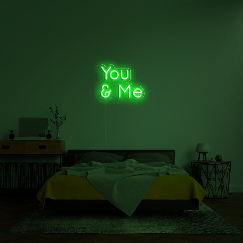 'You _ Me' Neon Sign