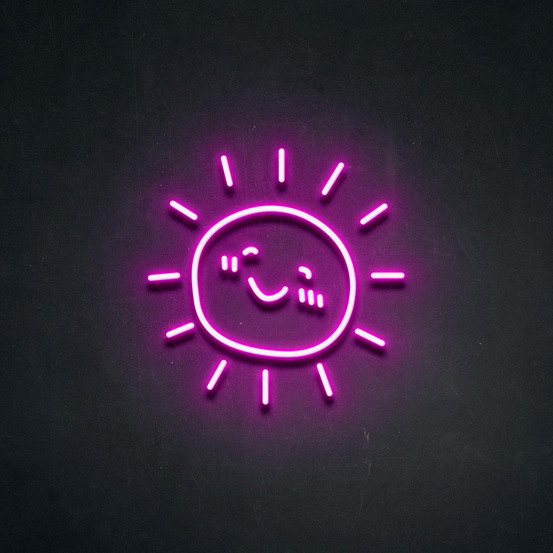 'Sunshine' Neon Sign-Neon Beach