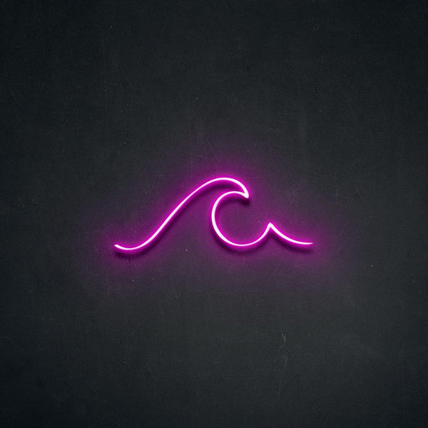 'Wave' Neon Sign-Neon Beach