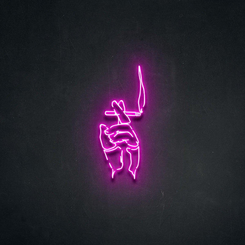 'Ciggi' Neon Sign-Neon Beach