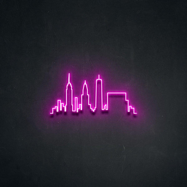 'NYC' Neon Sign-Neon Beach