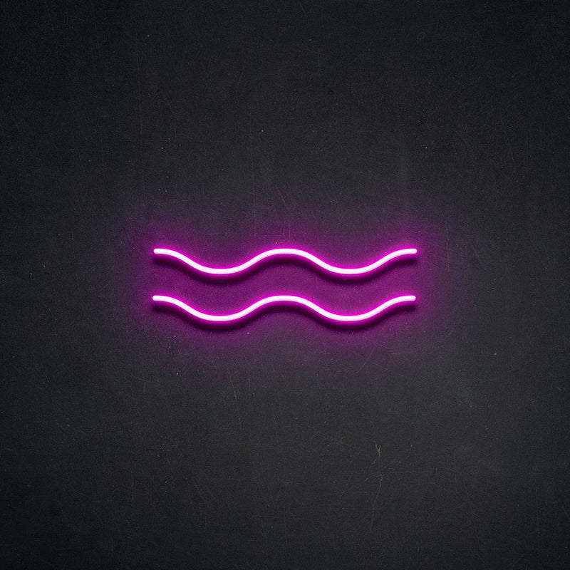 'Aquarius' Neon Sign-Neon Beach