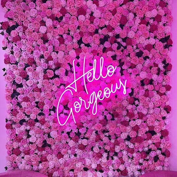 'Hello Gorgeous Neon Sign