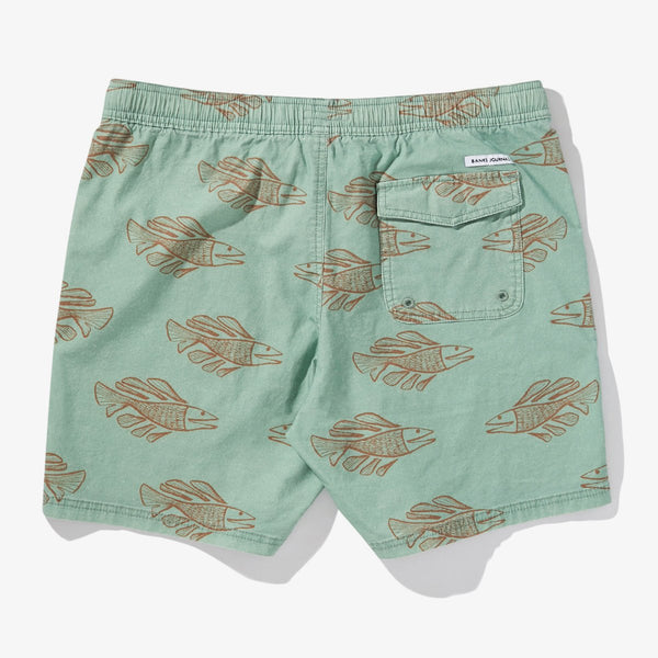 Mens Scales Boardshort - BANKS JOURNAL Boardshort