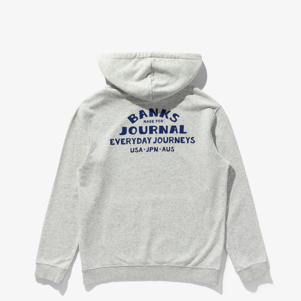 Everywhere Hood Graphic Fleece Fleece