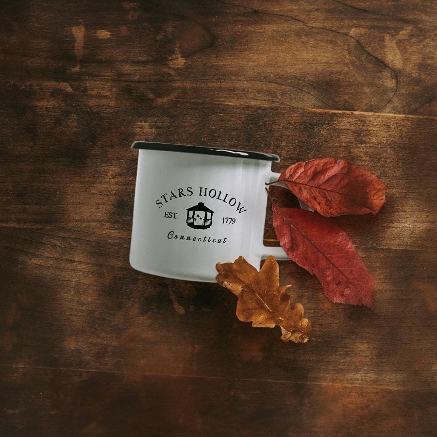 Stars Hollow Enamel Mug