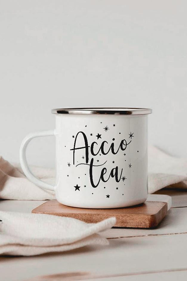 Accio Tea Enamel Mug