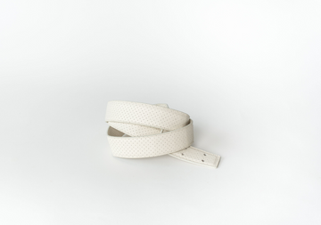 CROSSBODY STRAP - PARCHMENT PERF