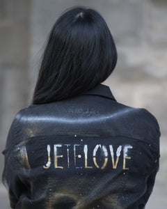 JETELOVE CUSTOM denim jackets by Giordano Mazzaferro.