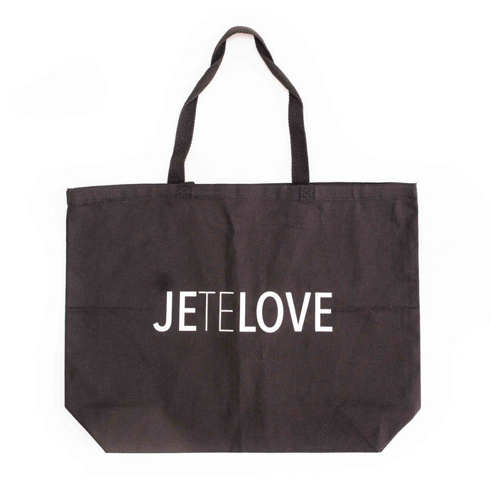 JETELOVE Tote Bag Black