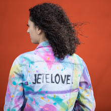 Load image into Gallery viewer, JETELOVE CUSTOM-  Denim Jackets by Giordano Mazzaferro
