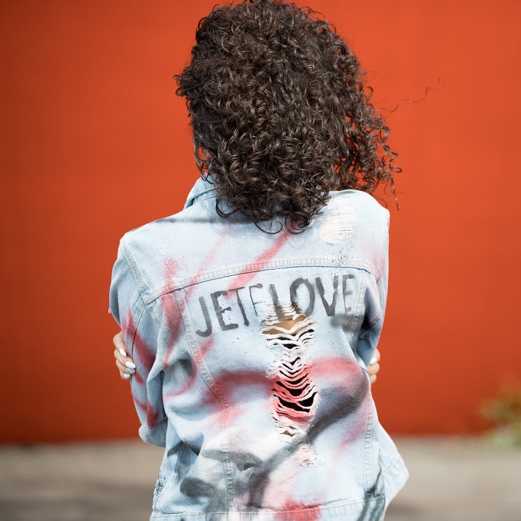 JETELOVE CUSTOM-  Denim Jackets by Giordano Mazzaferro