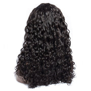 Water Wave Lace Front Human Hair Wig 22inch