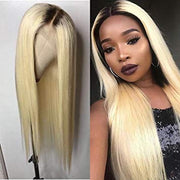 150% FULL LACE HUMAN HAIR WIG BLONDE 613