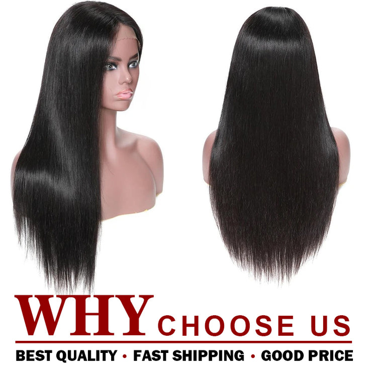 360 Full Lace Wig Straight Human Hair Wig