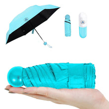 Load image into Gallery viewer, Windproof Double Layer Umbrella with Capsule Cover Umbrella for UV Protection & Rain | Outdoor Car Umbrella for Women & Men